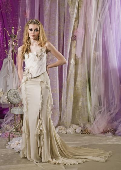 Swoon Wedding Dress - Terry Fox Much More Muchier 2014 Collection