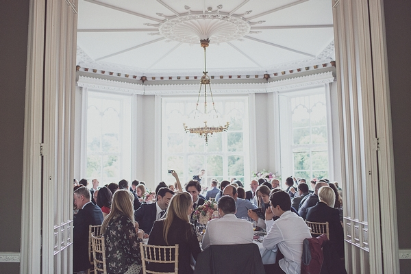 Wedding breakfast at Nonsuch Mansion