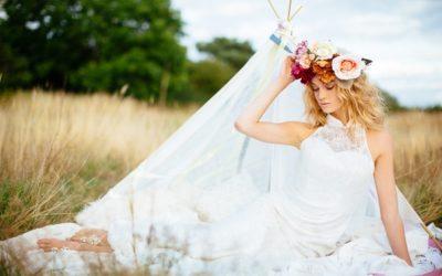 Boho, Earth Child Bridal Shoot