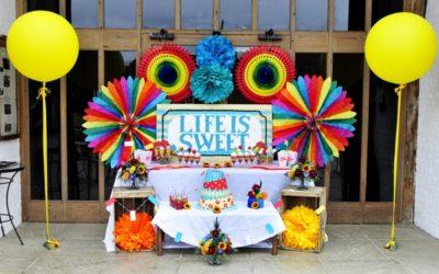 Carnival Wedding Styling at Ufton Court