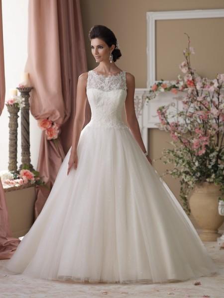 114273 Isobel Wedding Dress - David Tutera for Mon Cheri Spring 2014 Bridal Collection