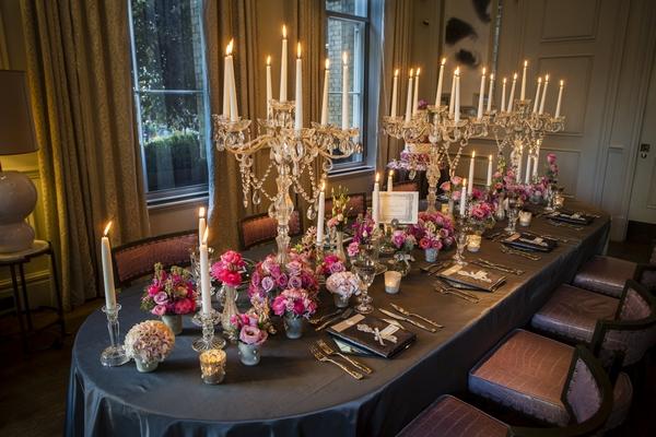 Grand wedding table
