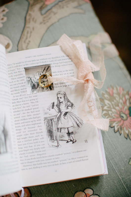 Inside Alice in Wonderland book