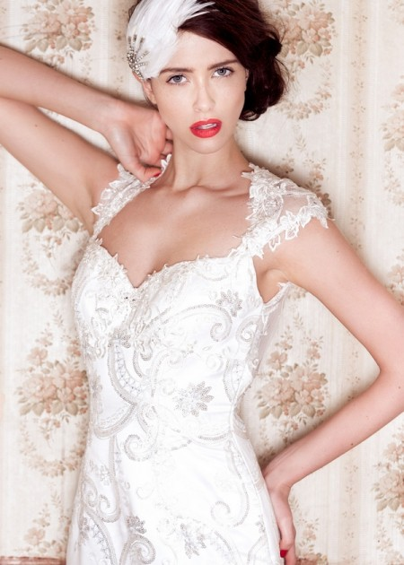Beaullea Wedding Dress - Charlotte Balbier A Decade of Style 2014 Bridal Collection