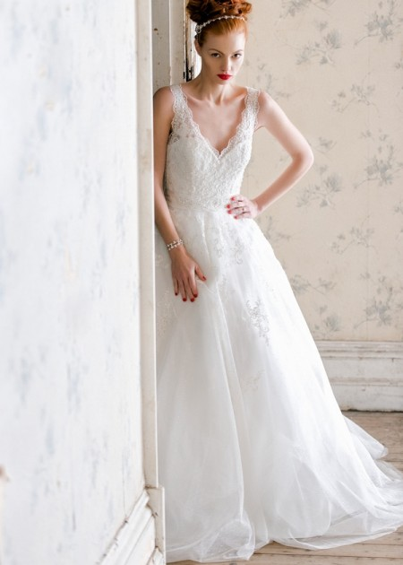 Belle Wedding Dress - Charlotte Balbier A Decade of Style 2014 Bridal Collection