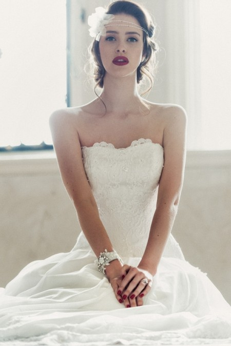 Leonora Wedding Dress - Charlotte Balbier A Decade of Style 2014 Bridal Collection