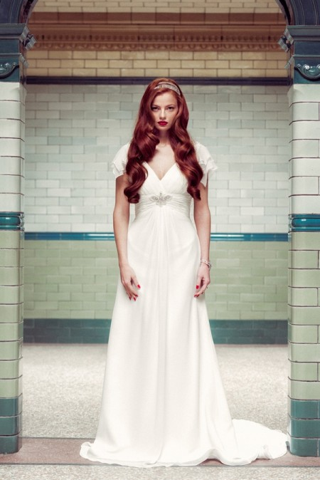 Mary Wedding Dress - Charlotte Balbier A Decade of Style 2014 Bridal Collection