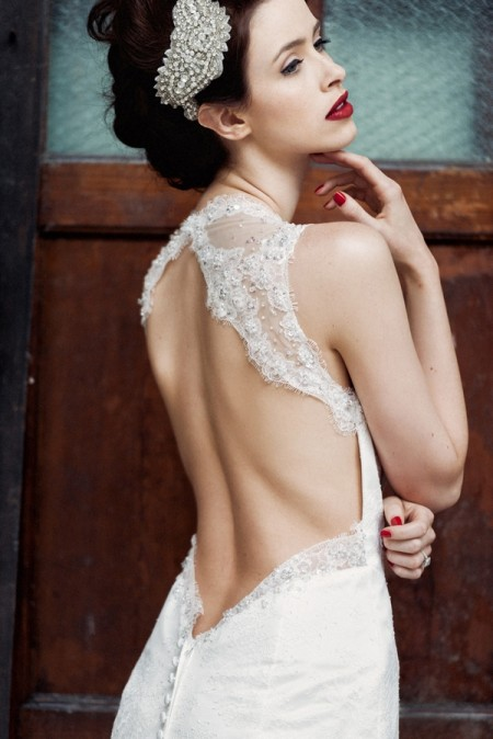 Nellie Wedding Dress - Charlotte Balbier A Decade of Style 2014 Bridal Collection