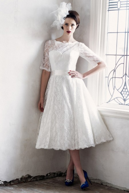 Nora Wedding Dress - Charlotte Balbier A Decade of Style 2014 Bridal Collection