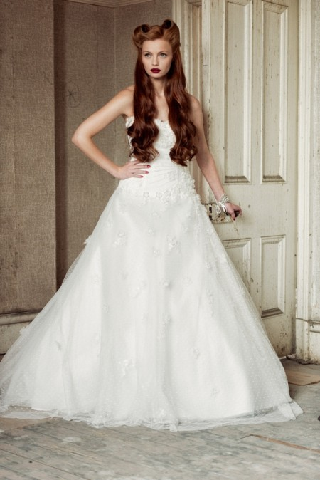 Sarah Wedding Dress - Charlotte Balbier A Decade of Style 2014 Bridal Collection