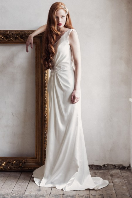 Sienna Wedding Dress - Charlotte Balbier A Decade of Style 2014 Bridal Collection