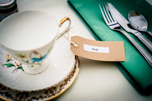 Bride vintage teacup