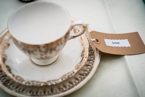 Groom vintage teacup
