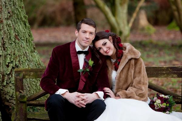 A Deer Park Winter Wedding Shoot The Wedding Community Blog