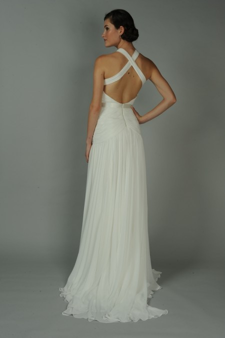 Back of Almandine Wedding Dress - Anne Barge Blue Willow Bride Fall 2014 Collection