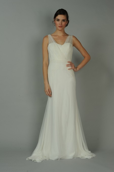 Bijou Wedding Dress - Anne Barge Blue Willow Bride Fall 2014 Collection
