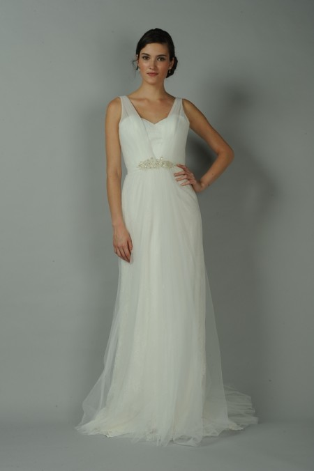 Coralie Wedding Dress - Anne Barge Blue Willow Bride Fall 2014 Collection