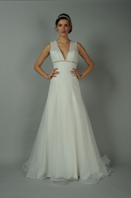 Diamante Wedding Dress - Anne Barge Blue Willow Bride Fall 2014 Collection