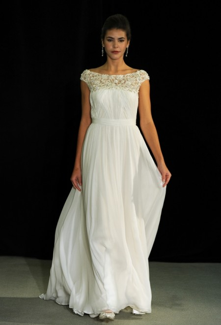 Fontaine Wedding Dress - Anne Barge Black Label Fall 2014 Collection