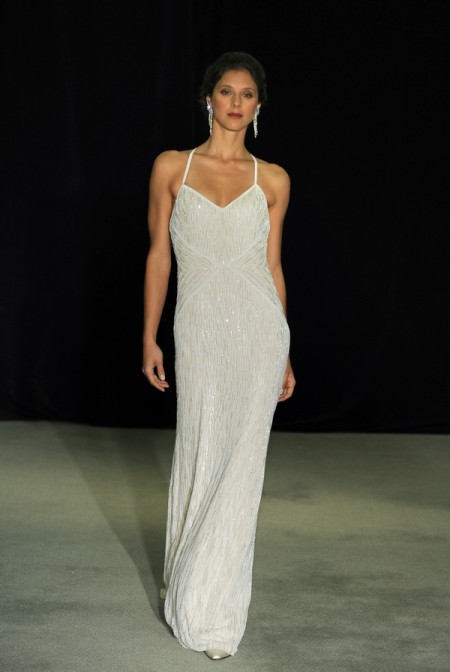 Garbo Wedding Dress - Anne Barge Black Label Fall 2014 Collection