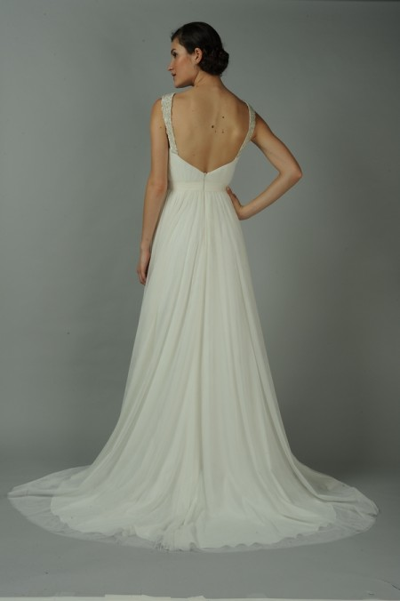 Back of Jade Wedding Dress - Anne Barge Blue Willow Bride Fall 2014 Collection