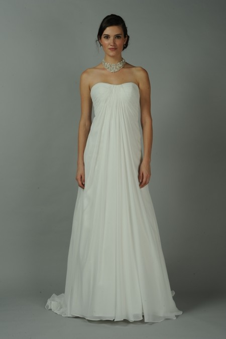 Perla Wedding Dress - Anne Barge Blue Willow Bride Fall 2014 Collection