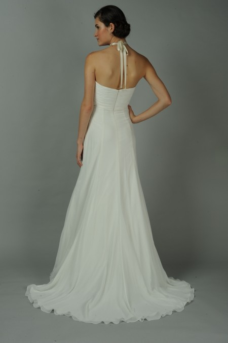 Back of Perla Wedding Dress - Anne Barge Blue Willow Bride Fall 2014 Collection