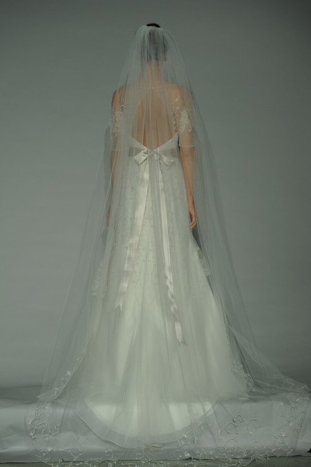 Back of Serenade Wedding Dress - Anne Barge Fall 2014 Collection