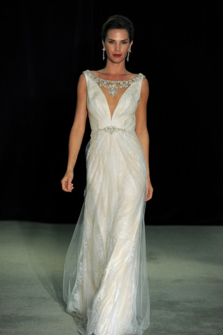 Swanson Wedding Dress - Anne Barge Black Label Fall 2014 Collection
