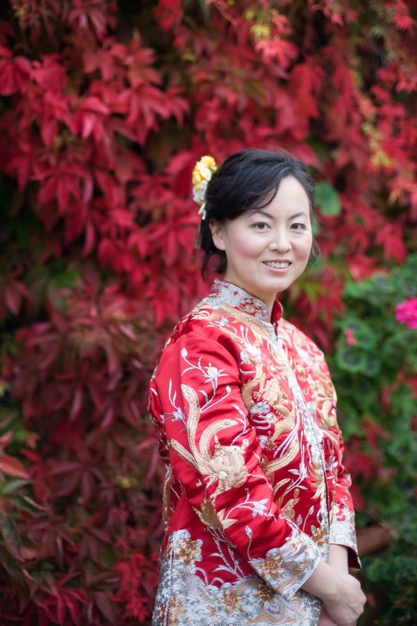 Bride in Chinese Kwa