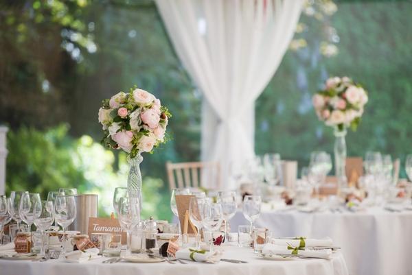 The Rectory Hotel wedding breakfast room