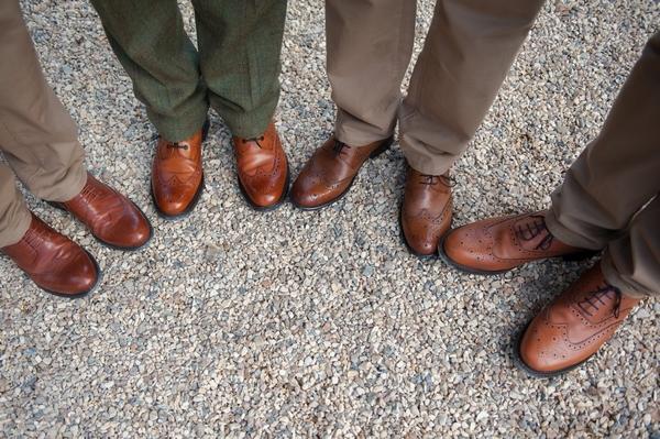 Groomsmen's shoes