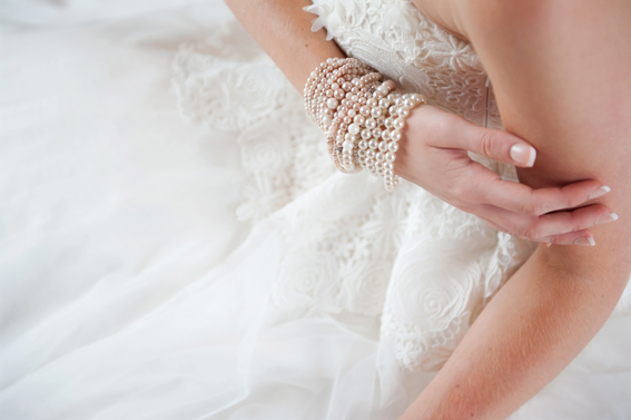 Bride's bracelets
