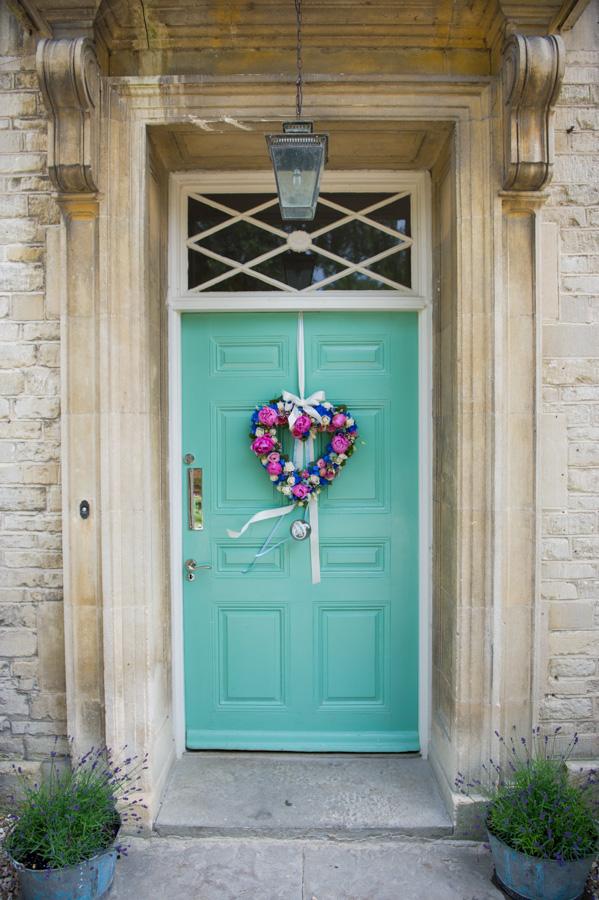 The Rectory Hotel door