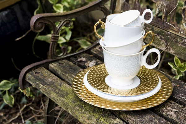 Cups and saucers from AMARA Wedding Gift Lists