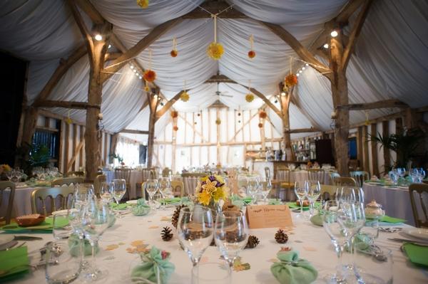 Wedding reception at South Farm