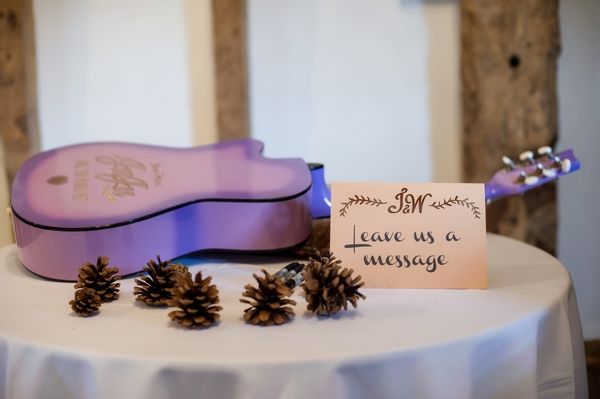 Guitar for wedding messages