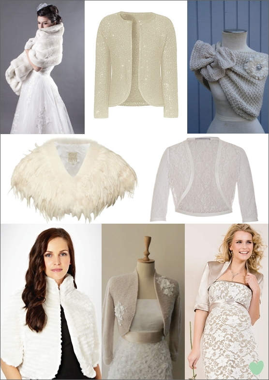 Winter Bridal Shrugs, Boleros and Wraps | The Wedding Community Blog
