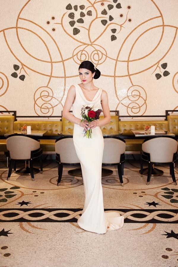 Bride in Corinthia Massimo Restaurant