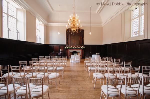 Fulham Palace ceremony room