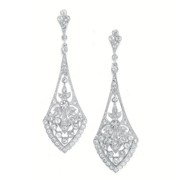 Donna Earrings in Silver £69.99