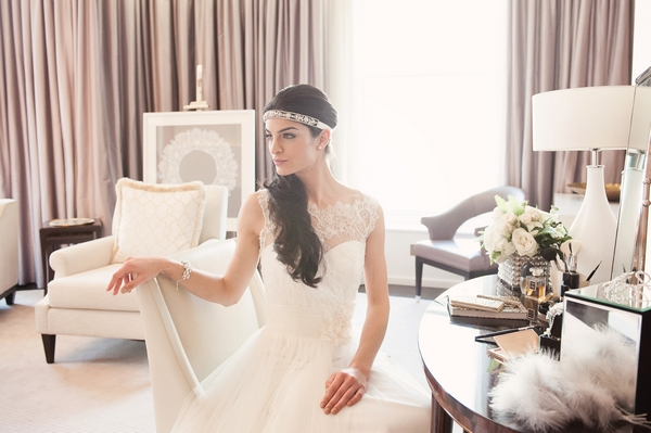 New 2014 Olivier Laudus Bridal Accessories Collection Shoot