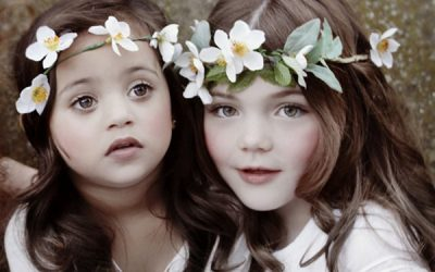 A Vintage Style Flower Girl Shoot