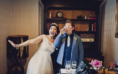 A Wedding Full of Colour, Creativity and Character