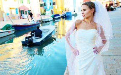 A Cherish the Dress Shoot in Venice