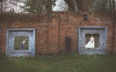 A Rustic Wedding at Gaynes Park