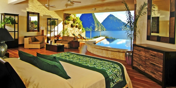 Jade Mountain, Soufriere, St Lucia - Mr and Mrs Smith