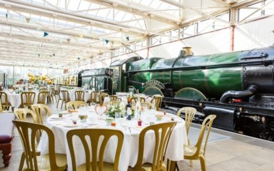 A Wedding at Buckinghamshire Railway Centre