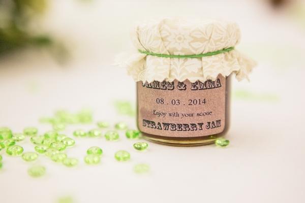 Small pot of jam