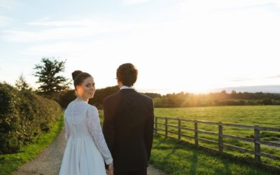 A Farm Wedding Where the Bride Wore Her Mother's Dress